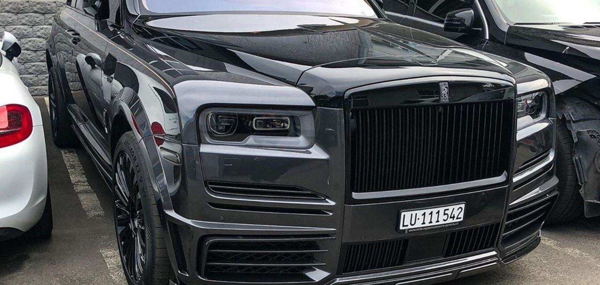 В Україні знайшли найдорожчий Rolls-Royce Cullinan. Фото: instagram.com/vehicles.exclusive