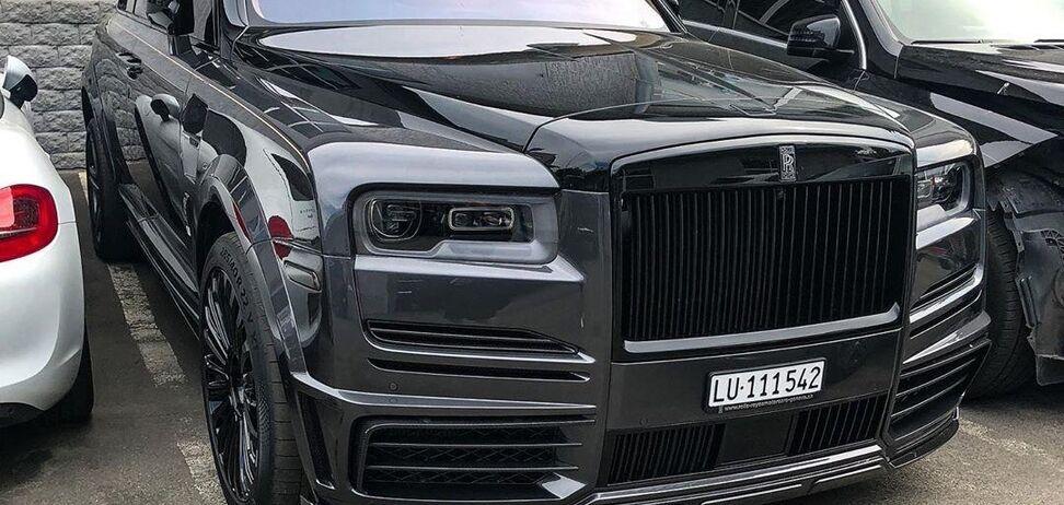 В Украине нашли самый дорогой Rolls-Royce Cullinan. Фото: instagram.com/vehicles.exclusive