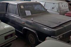 В ангаре нашли 150 заброшенных авто времен СССР. Видео