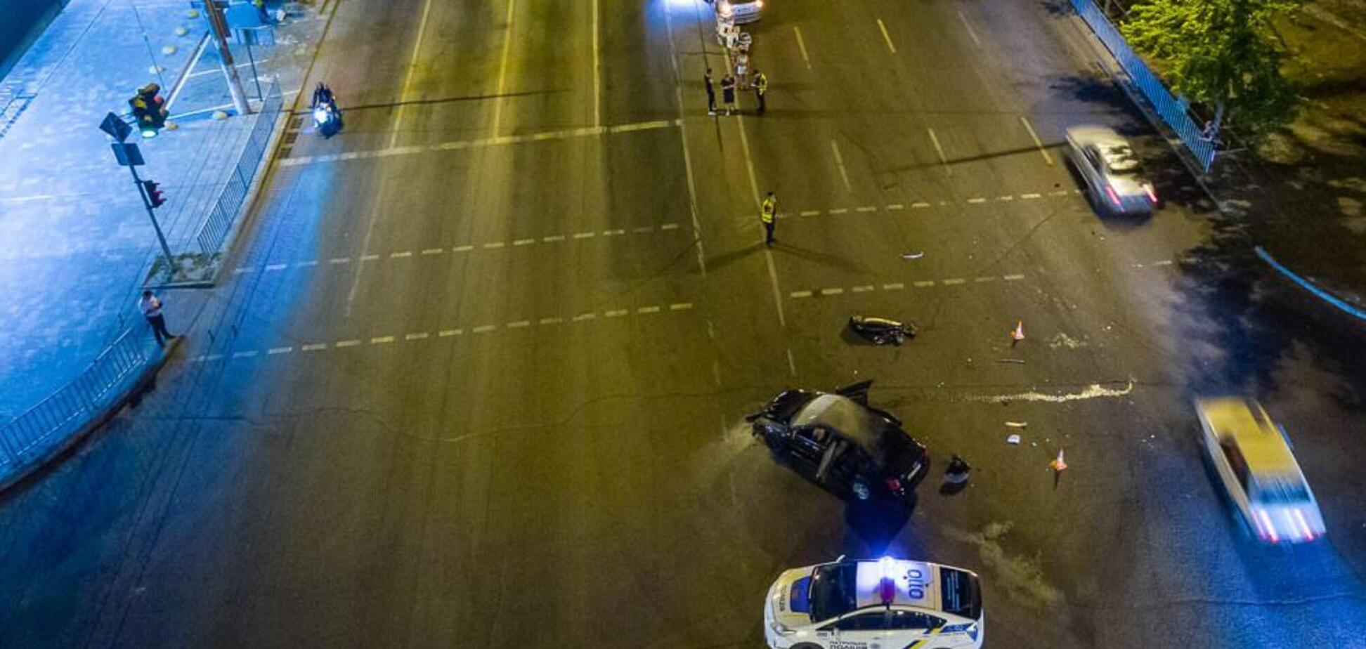 ДТП на Слобожанському проспекті в Дніпрі: є постраждалий. Відео