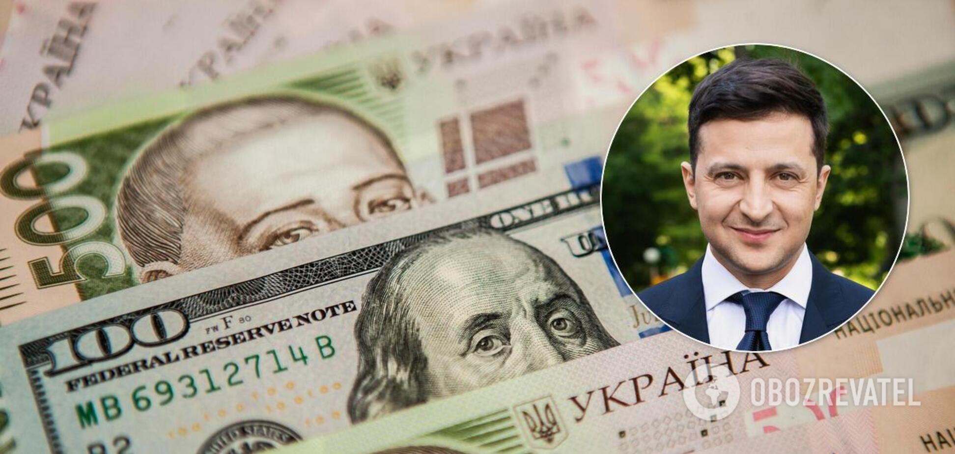 Зеленський заявив, що стримувати курс гривні не потрібно