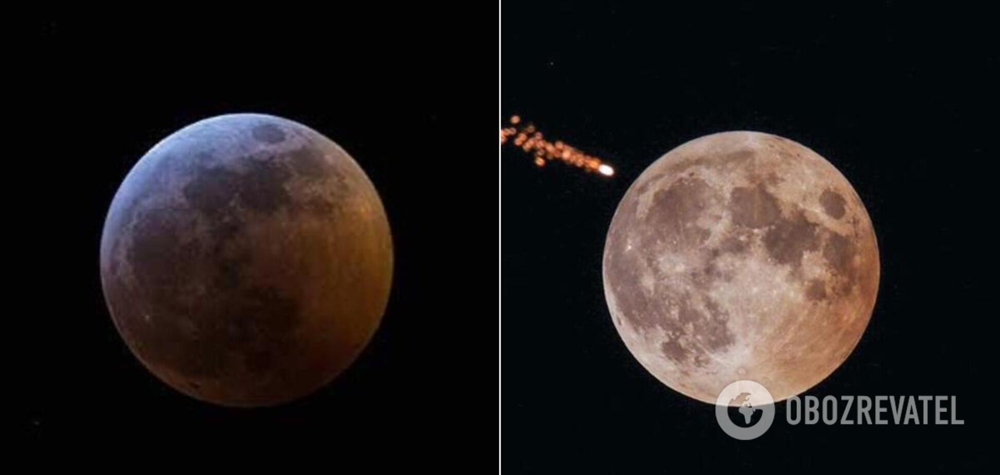 Жителі Землі могли спостерігати напівтіньове місячне затемнення