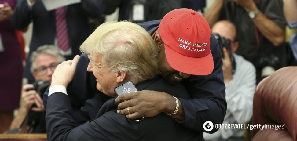 Каньє Вест і Дональд Трамп