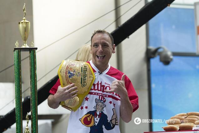 Джоуи Честнат побил свой же мировой рекорд
