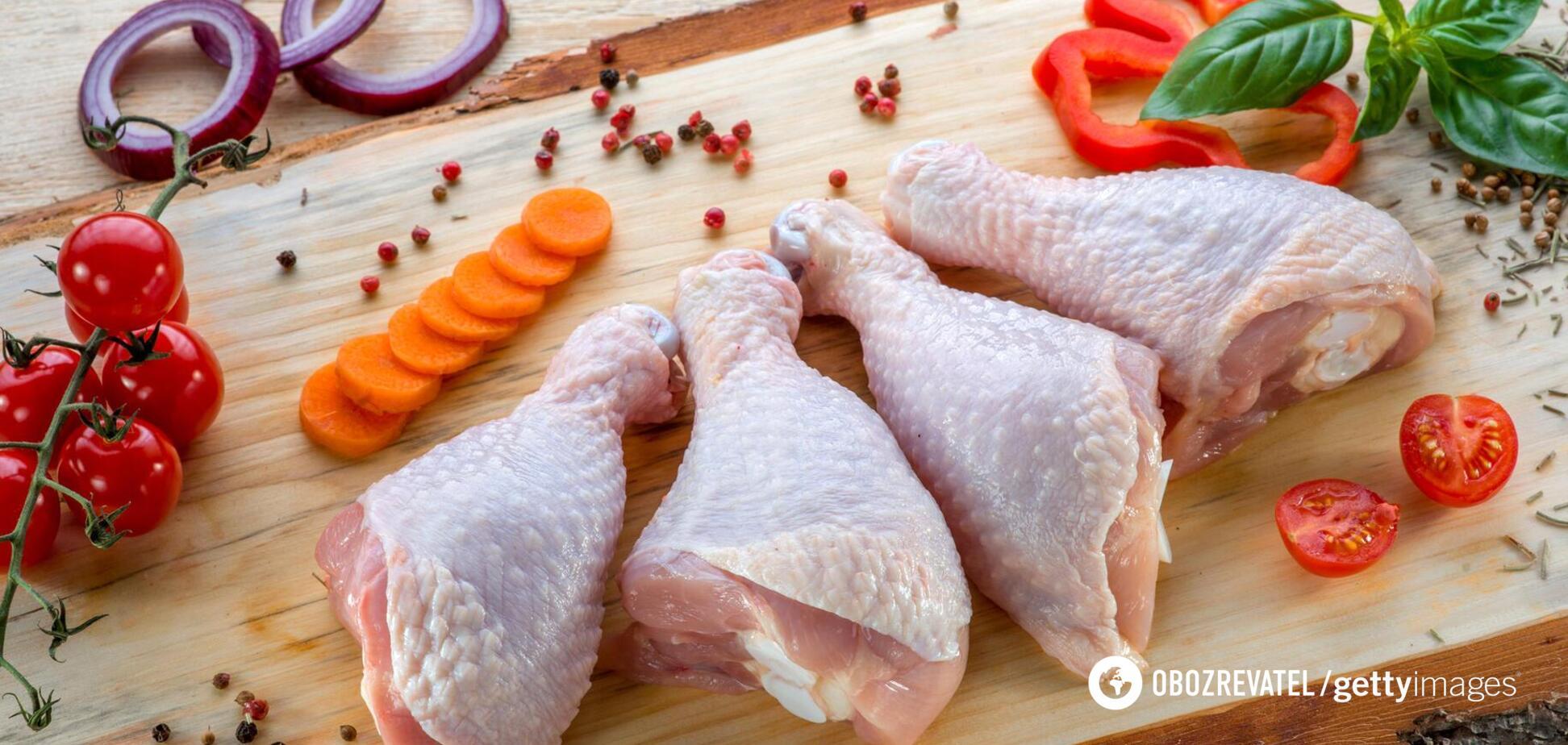 Куриное мясо часто приводит к пищевым отравлениям