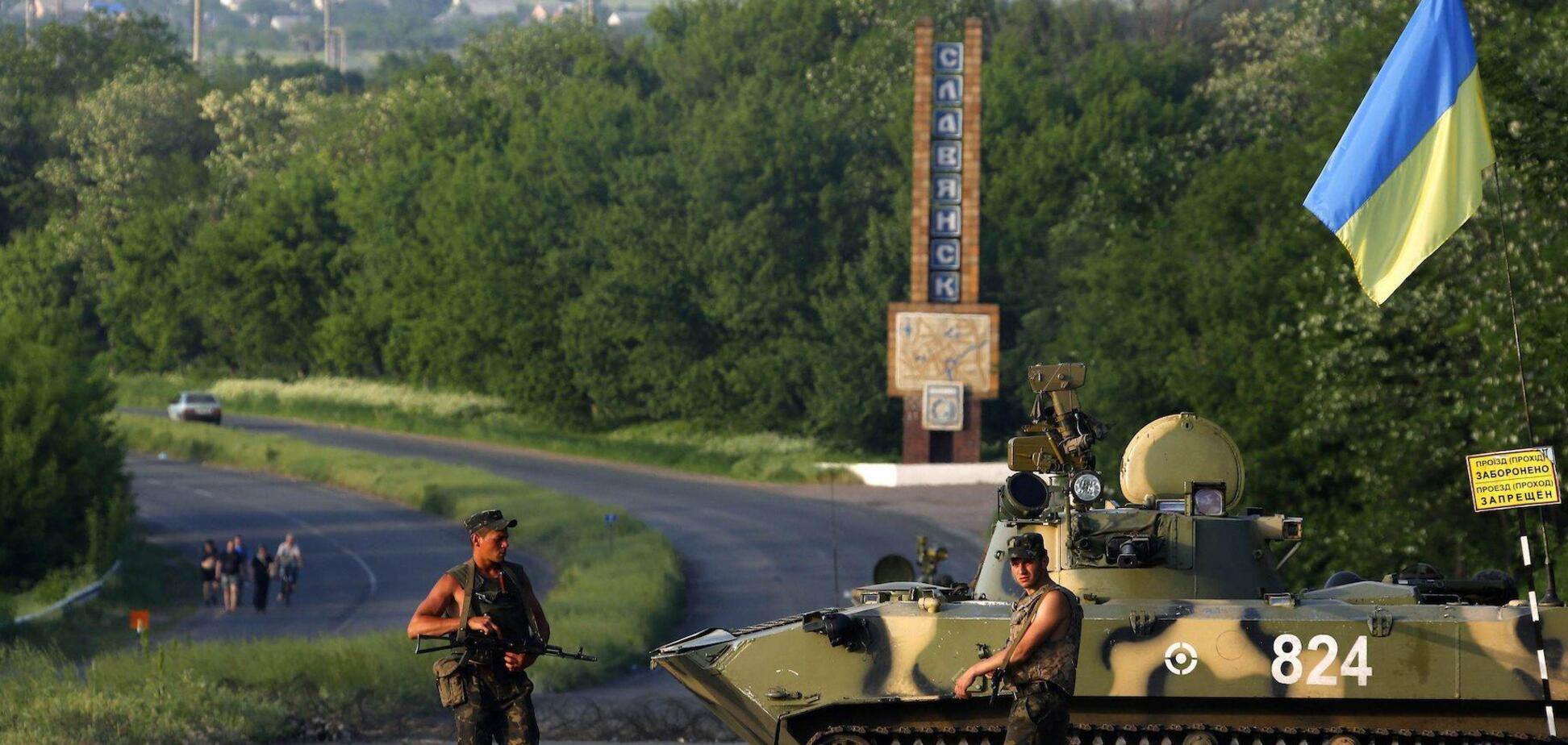 Освобождение Славянска в 2014 году