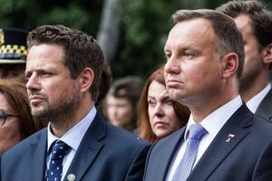 Дуда может проиграть Тшасковскому на выборах президента (Фото: TK Media)