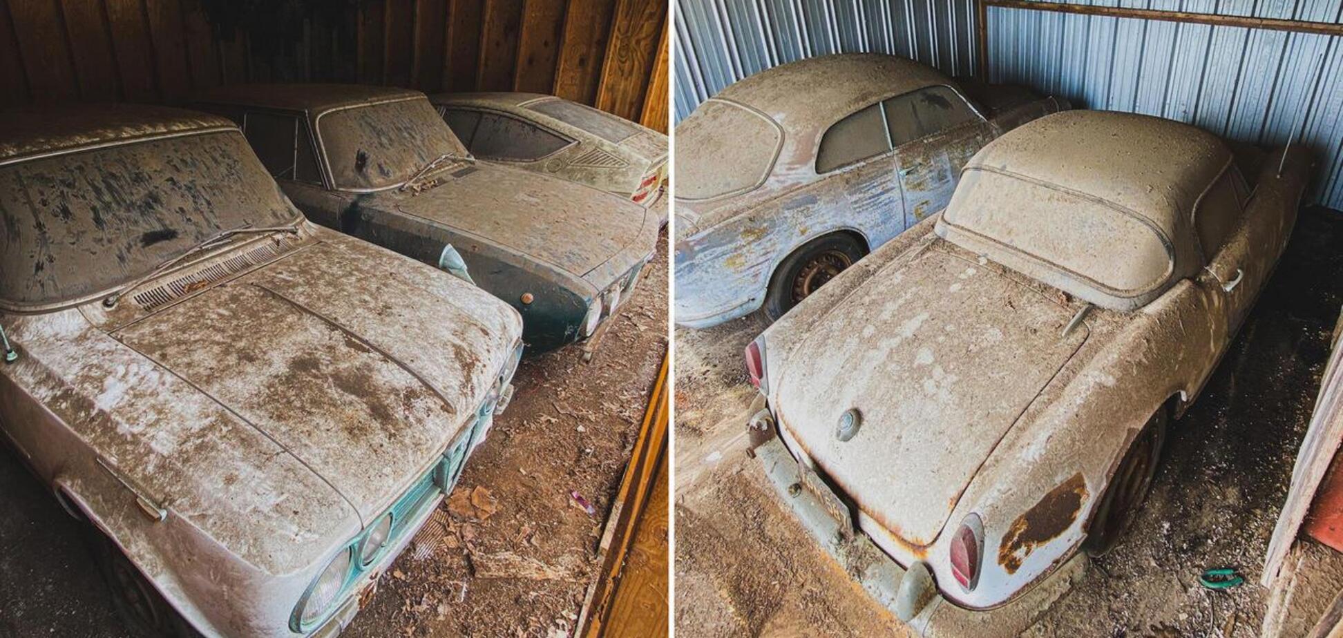 Кілька Alfa Romeo після 40-річного простою вирушать на продаж. Фото: carakoom.com