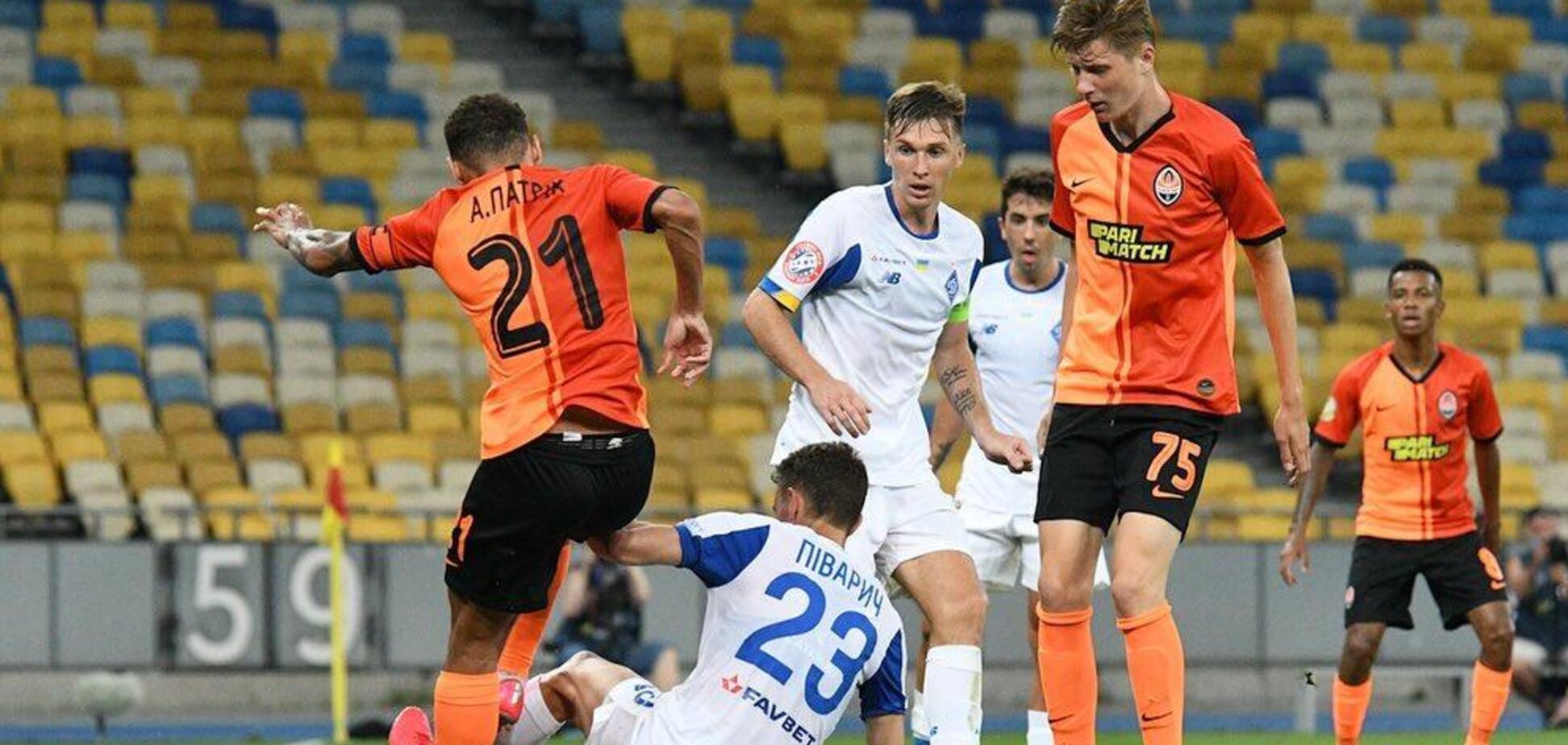 'Динамо' і 'Шахтар' розіграють Суперкубок