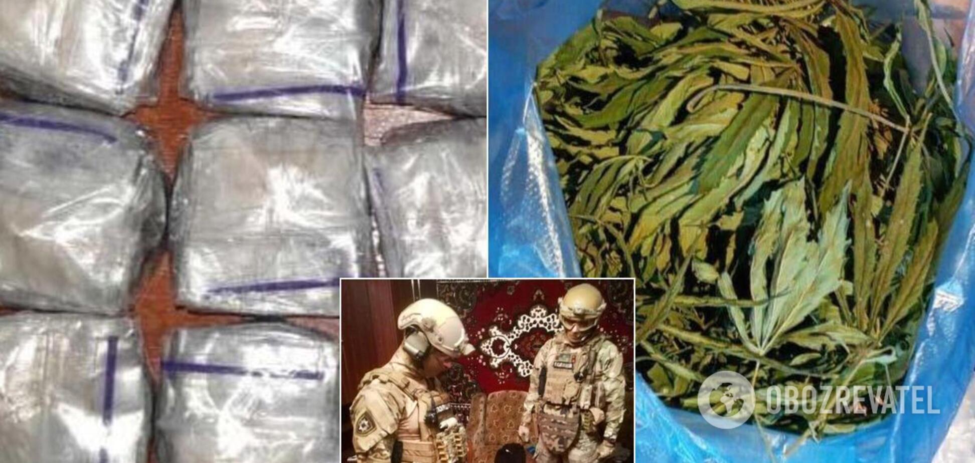У Кривому Розі викрили наркобізнес із мільйонним обігом у місяць. Фото і відео
