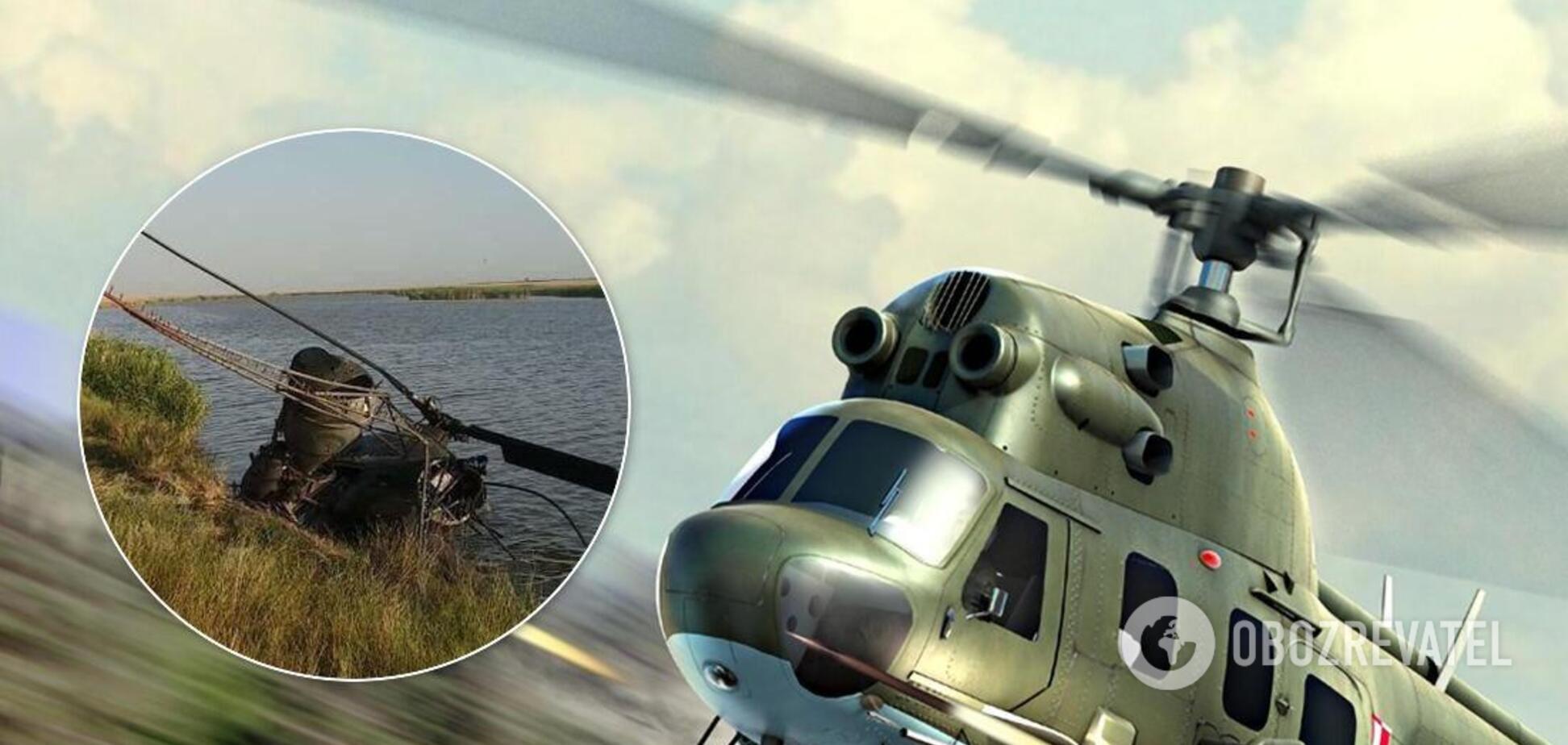 У Росії розбився вертоліт Мі-2, є загиблий. Фото і відео з місця НП