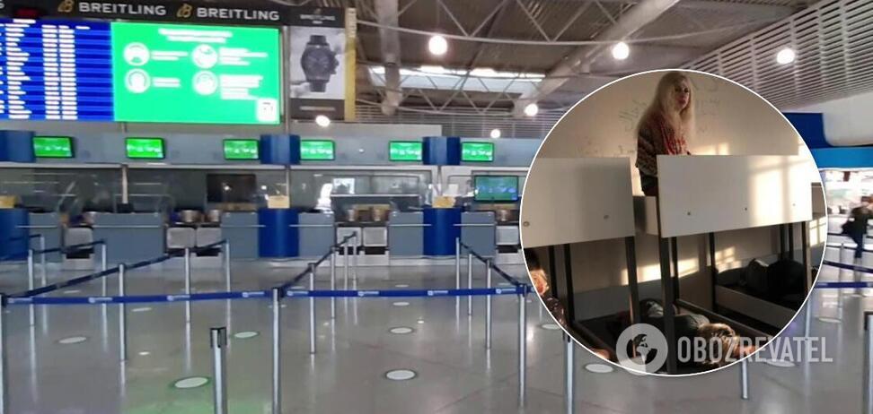 Задержанных в Греции украинцев могут вернуть за счет авиакомпаний – МИД