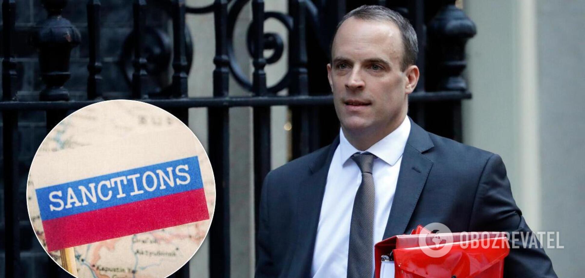 Россия попала под британские санкции