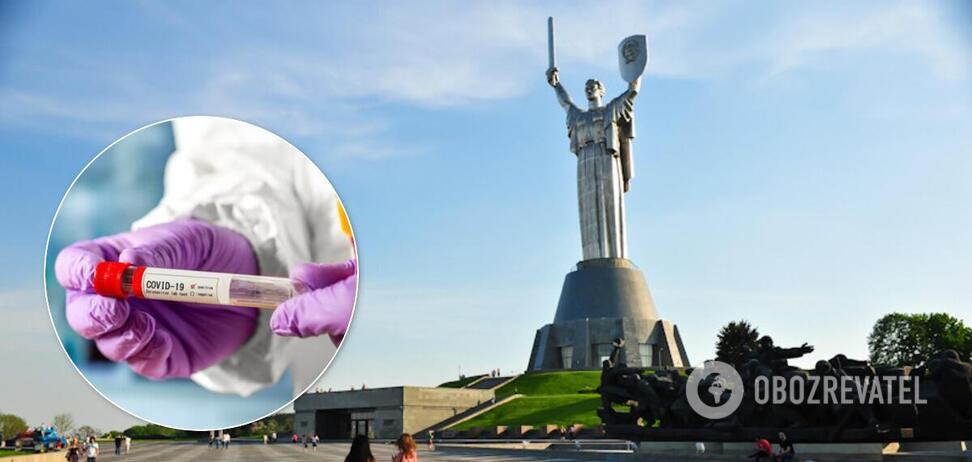 В Киеве COVID-19 начал отступать. Иллюстрация