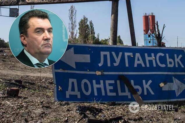 Олексій Данилов назвав умови виборів на Донбасі