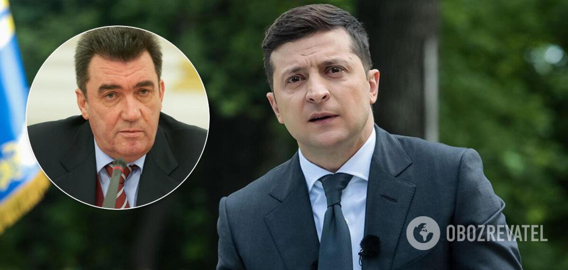 Алексей Данилов назвал Владимира Зеленского другим человеком