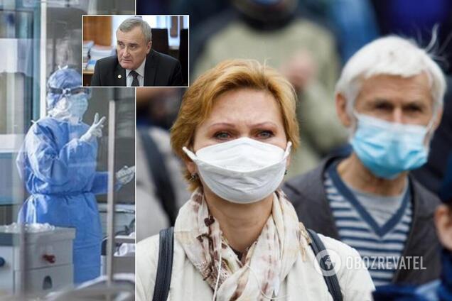 Епідемія COVID-19 в Україні йде на спад. Позитивний сценарій НАН