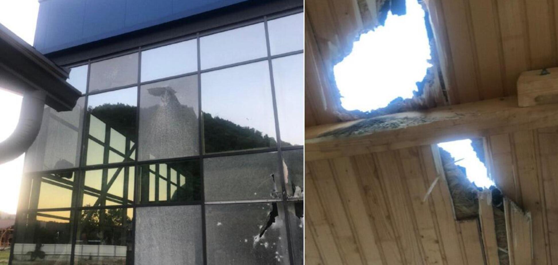 У Мукачеві з гранатомета розстріляли розважальний комплекс. Фото і відео НП