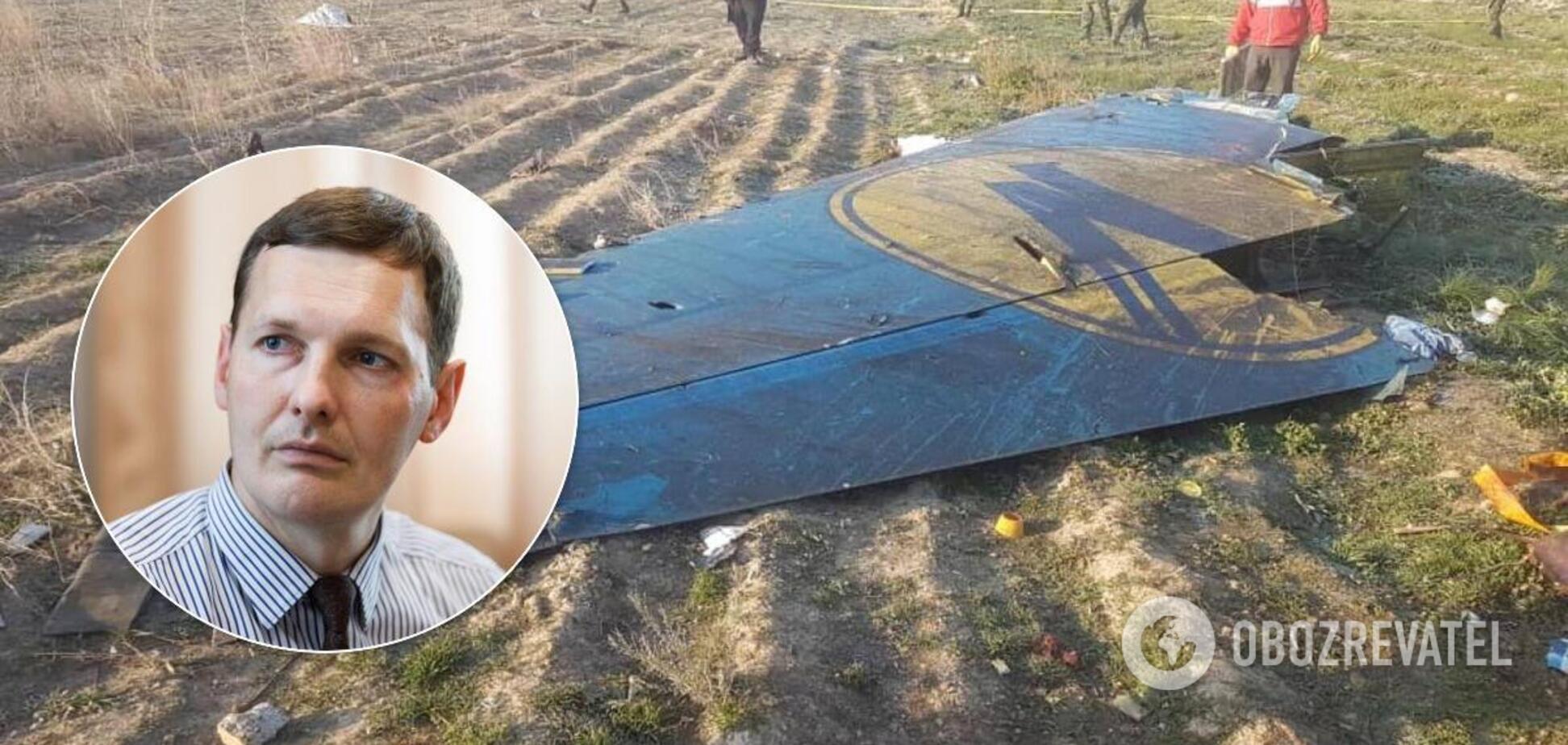 Енин заявил, что Иран согласился взять ответственность за катастрофу с самолетом МАУ