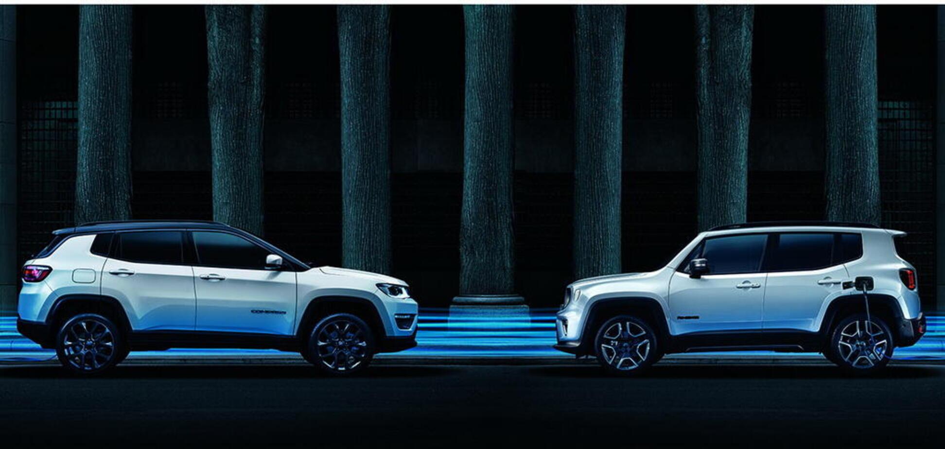 У Європі стартував продаж гібридних Jeep