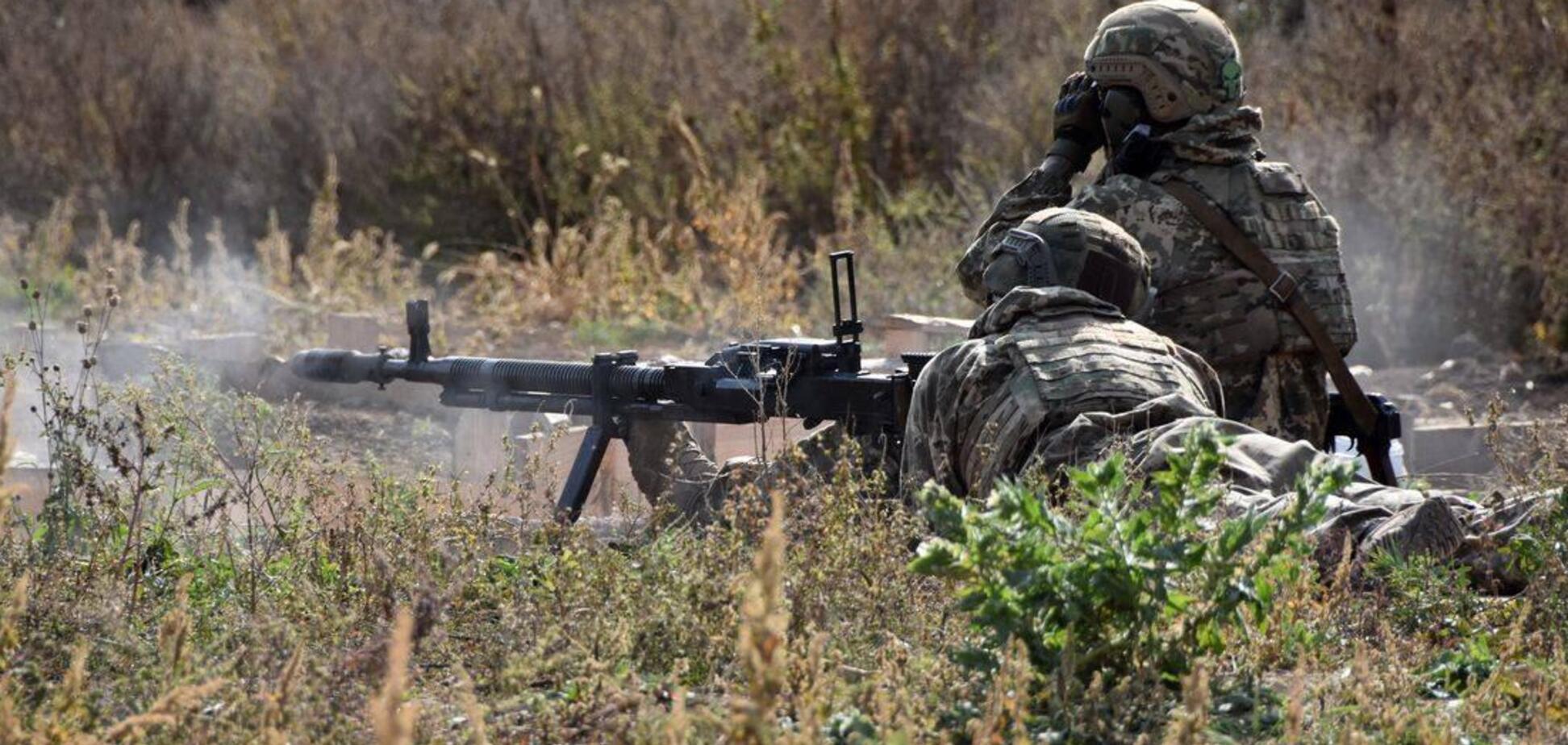 Вогнем у відповідь українські військові змусили ворога замовкнути