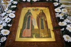Ікона святих Петра і Февронії