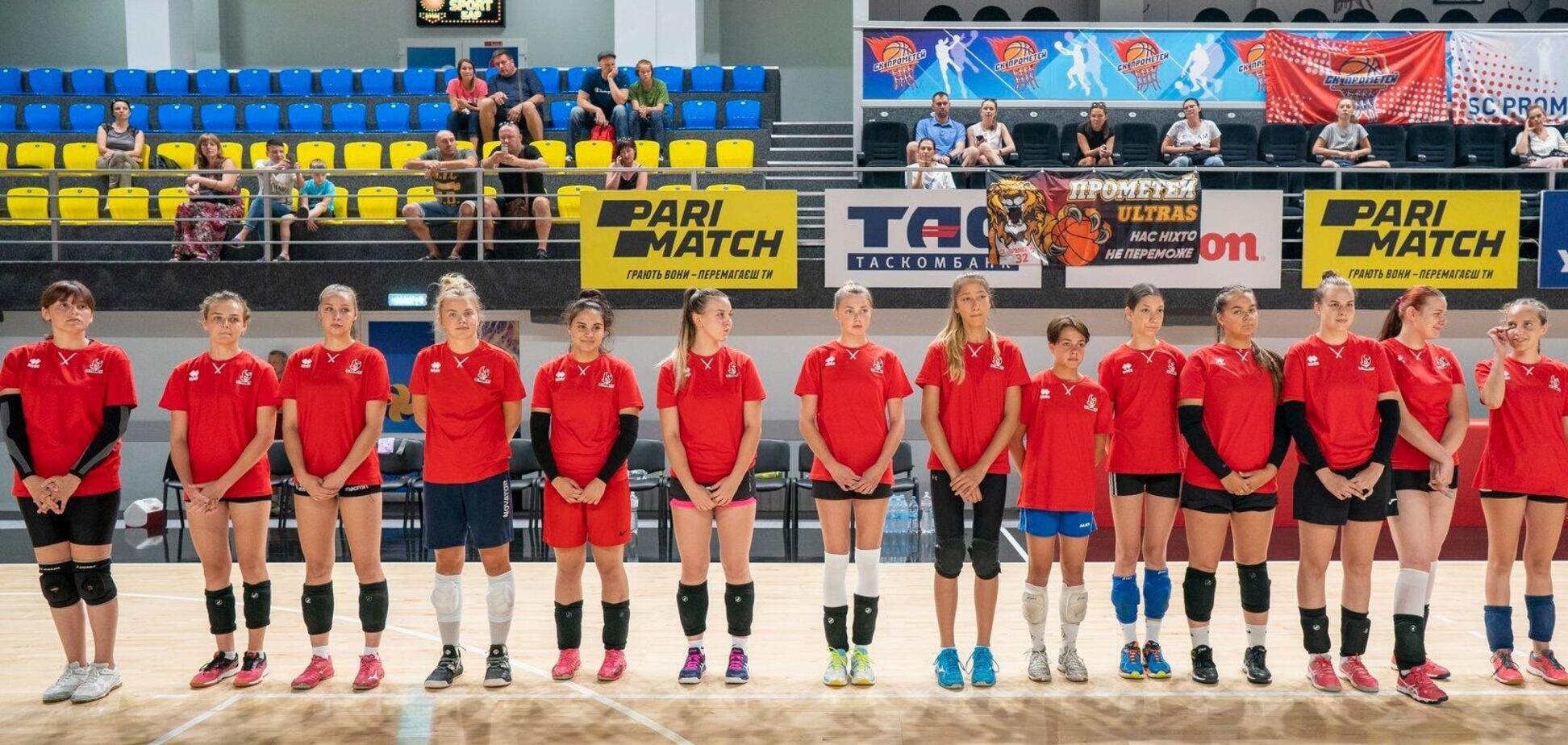 У Кам'янському стартував відбір волейболісток до Спортивної академії 'Прометей'