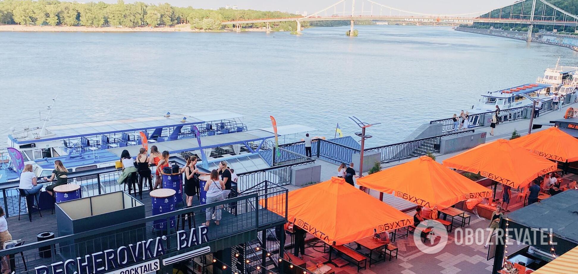 Лучшие места для отдыха в Киеве: БУХТА food station и речной вокзал с новыми маршрутами