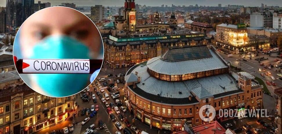 У Києві зросла кількість заражених коронавірусом. Ілюстрація