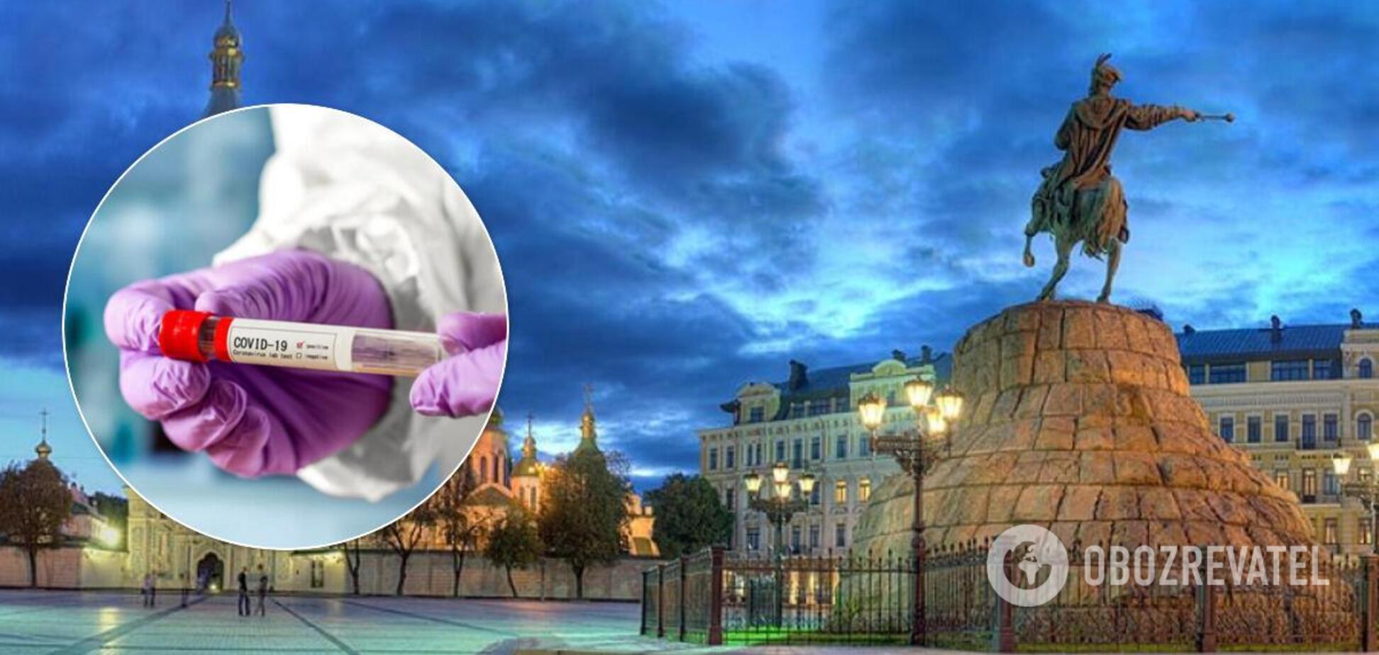 У Києві коронавірус почав відступати. Ілюстрація