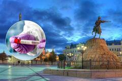 Коронавирус на Киевщине. Иллюстрация