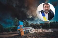 Сергей Гайдай не исключил, что леса могли поджечь, но точный анализ еще не сделали
