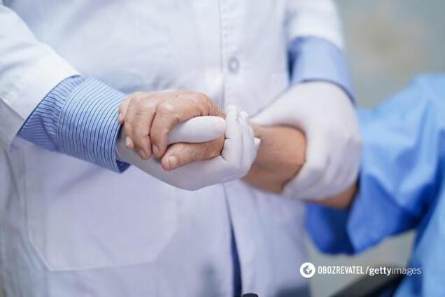 Пациент с коронавирусом