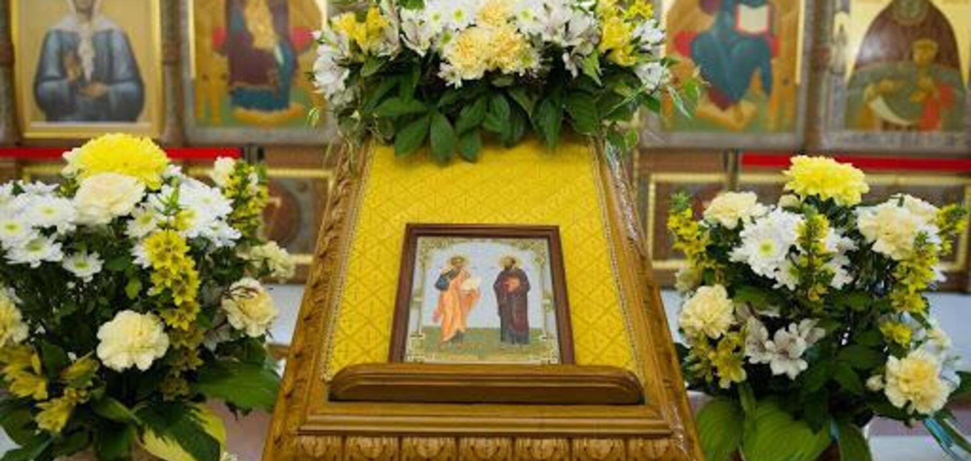 12 липня відзначають День пам'яті святих апостолів Петра і Павла