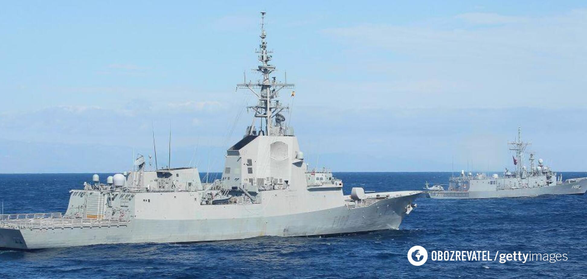 Черноморский флот России начал слежку за группой кораблей НАТО