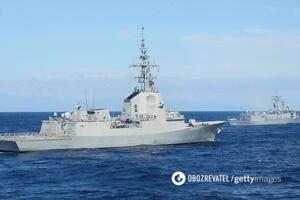 Чорноморський флот Росії почав стеження за групою кораблів НАТО