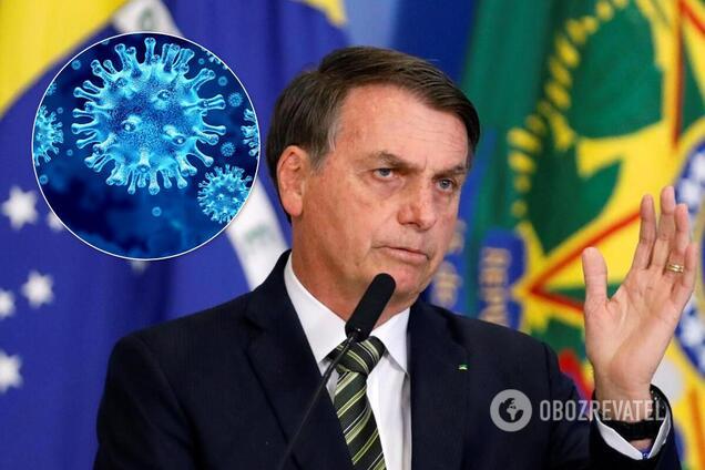 У президента Бразилії підозрюють коронавірус