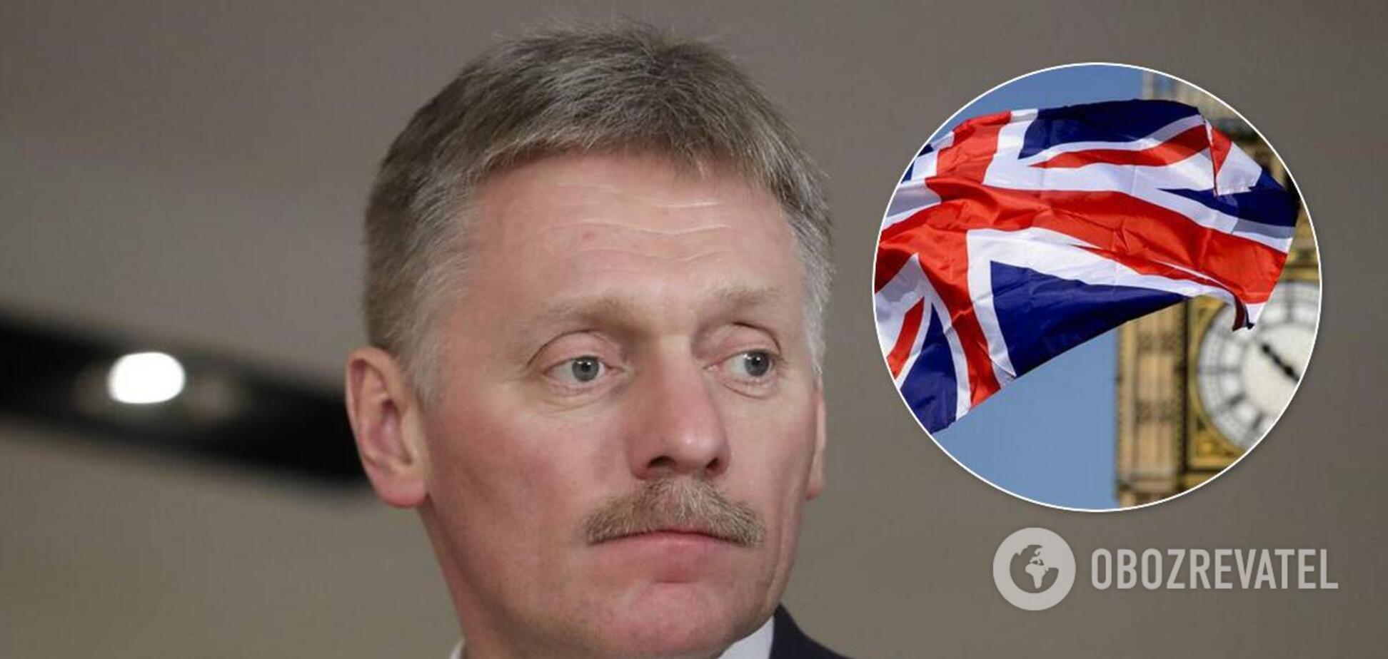 В Кремле пообещали ответить на санкции Великобритании