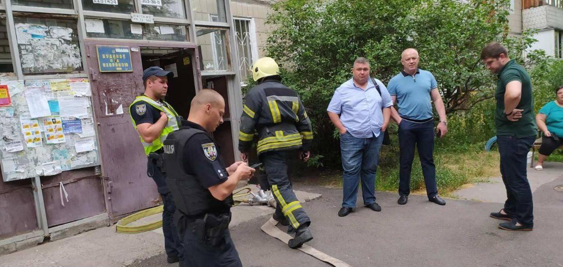 У житловому будинку Києва трапилися витік газу і пожежа