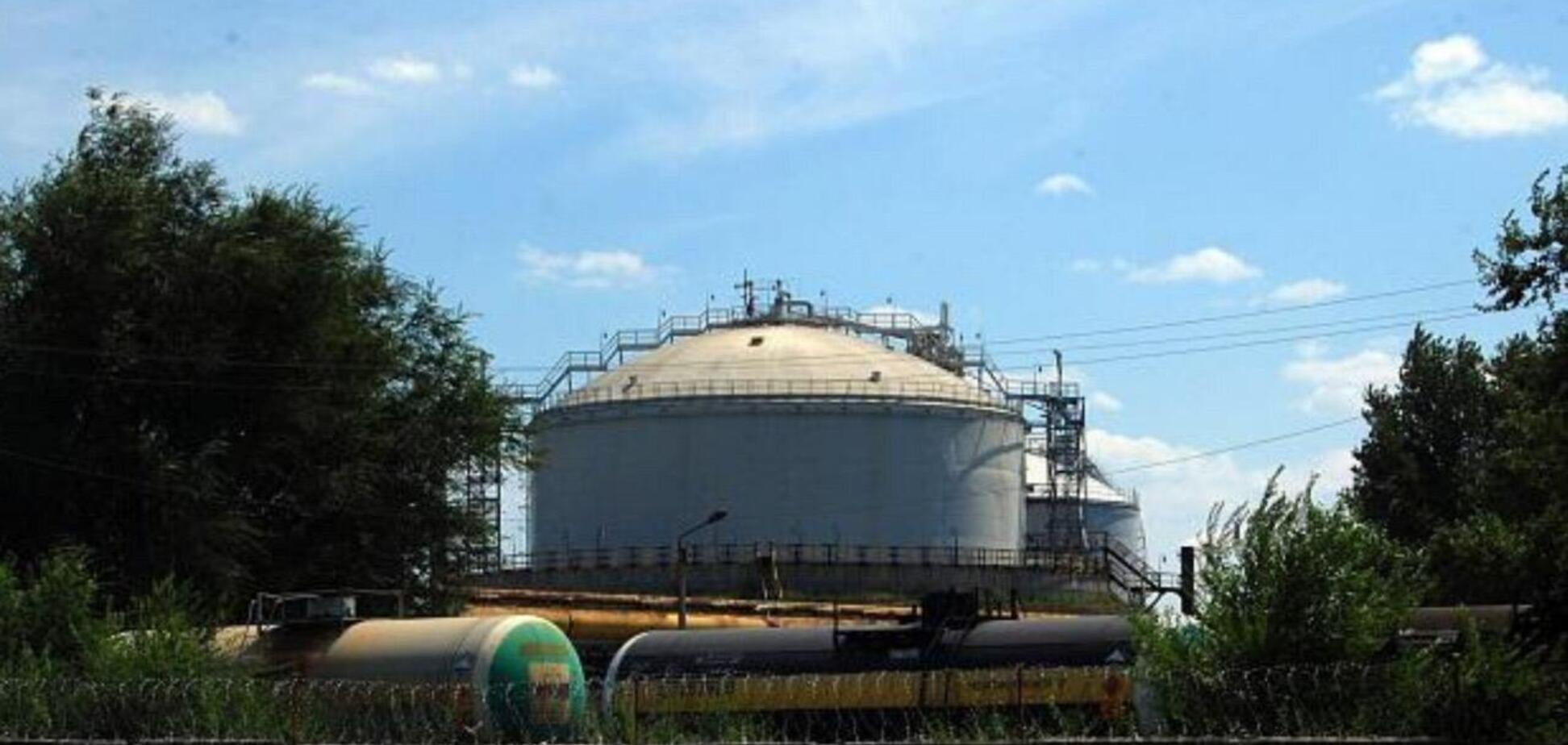 На Луганщині диверсант планував підірвати резервуари з аміаком