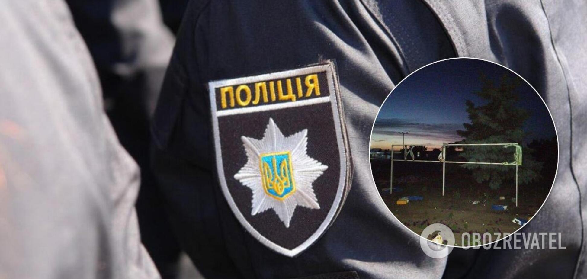 В Станиці Луганській знищили знак 'Україна'