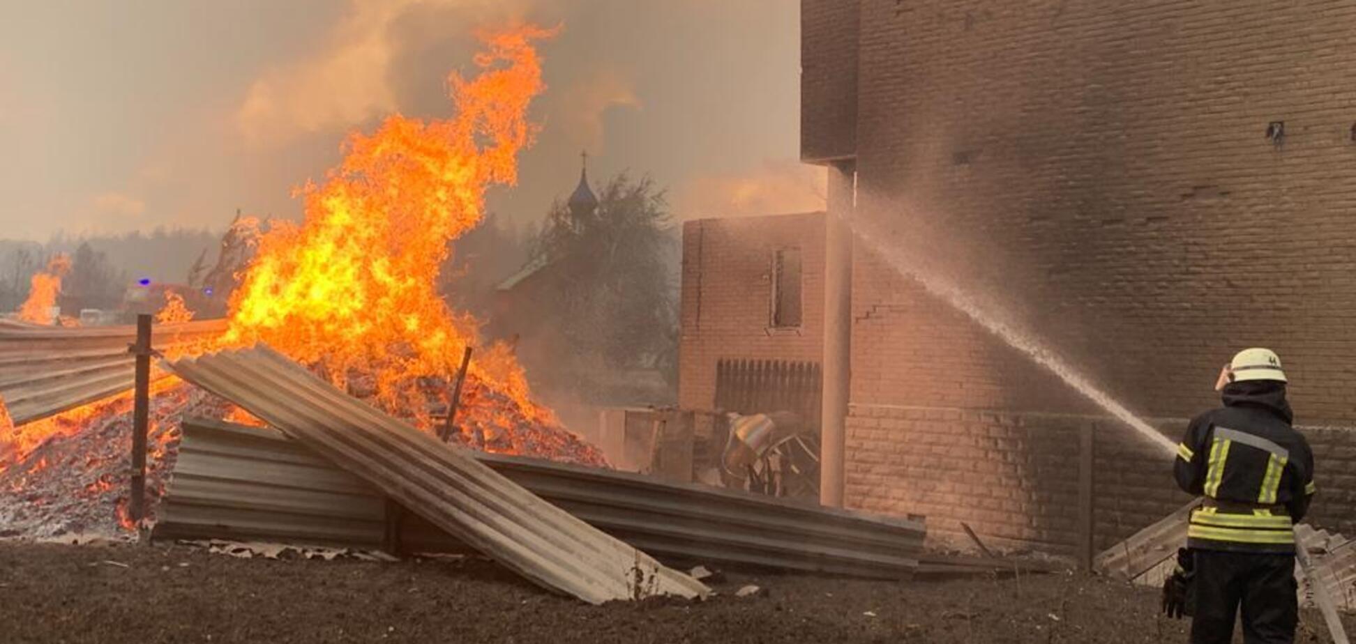 На Луганщині продовжують лютувати пожежі: 5 осіб загинули