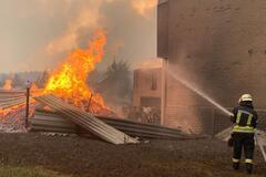 На Луганщине продолжают бушевать пожары: 5 человек погибли
