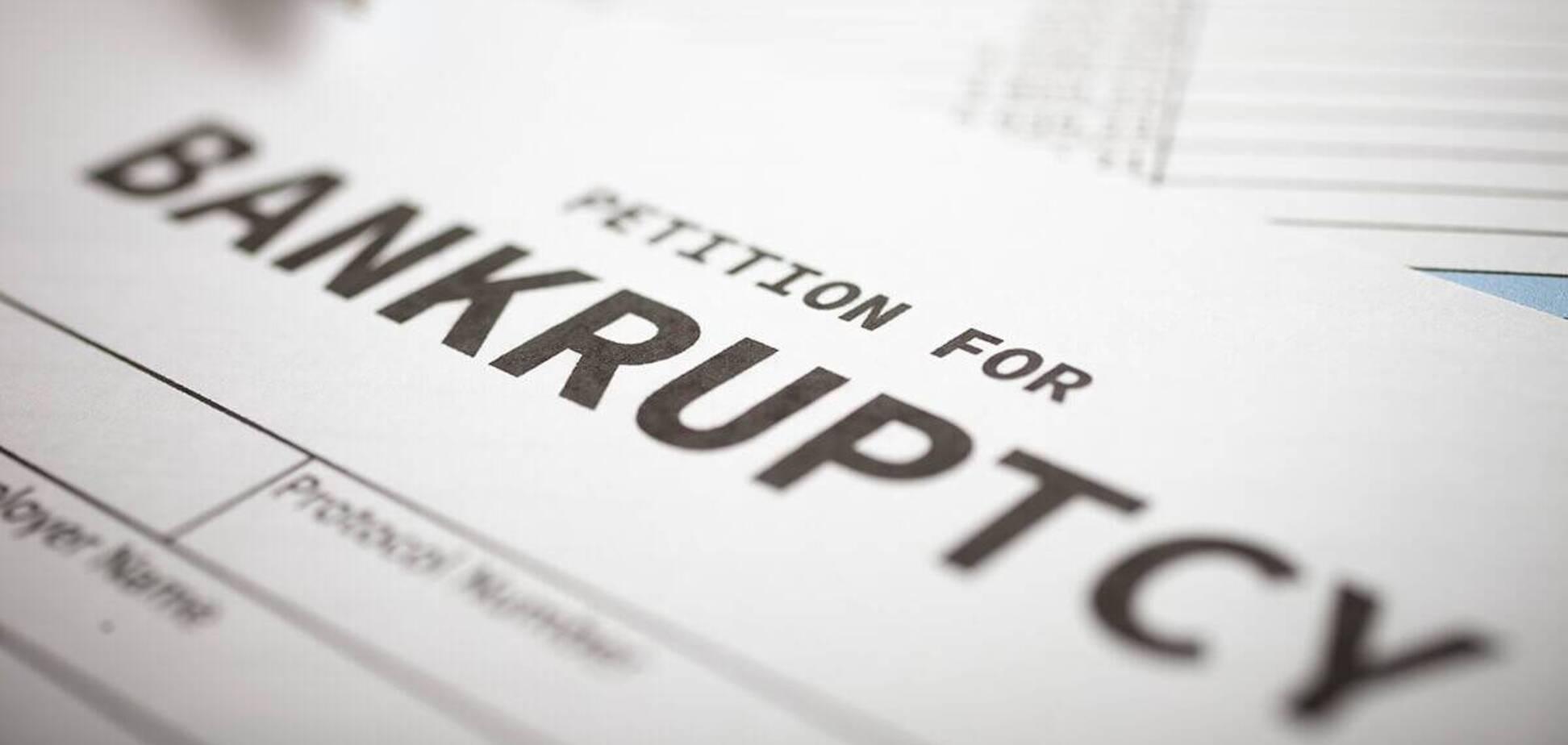 В США может начаться волна банкротств