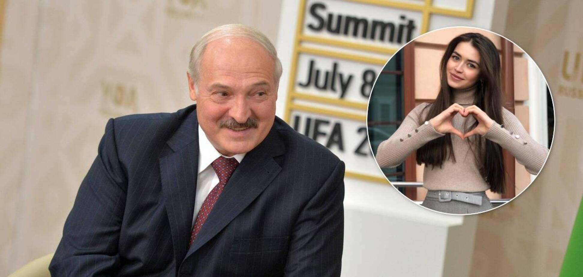 У мережі знову заговорили про роман Лукашенка з Міс Білорусь (колаж)