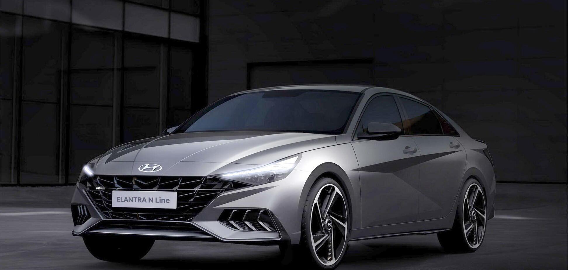 Hyundai готовит спортивную модификацию седана Elantra