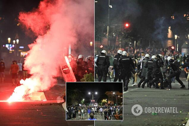 Протести в Сербії через карантин