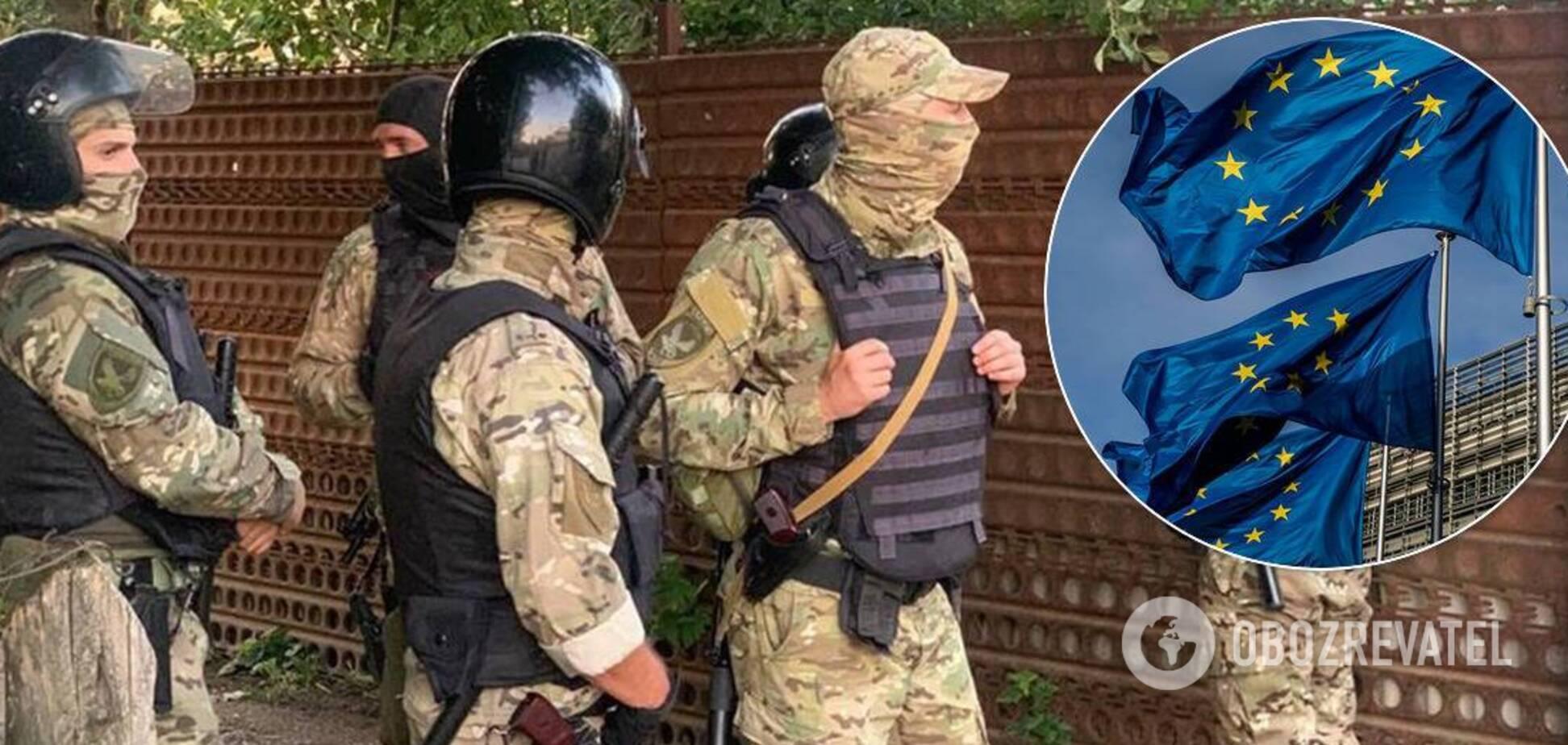 В ЄС закликали РФ припинити політичні переслідування в Криму