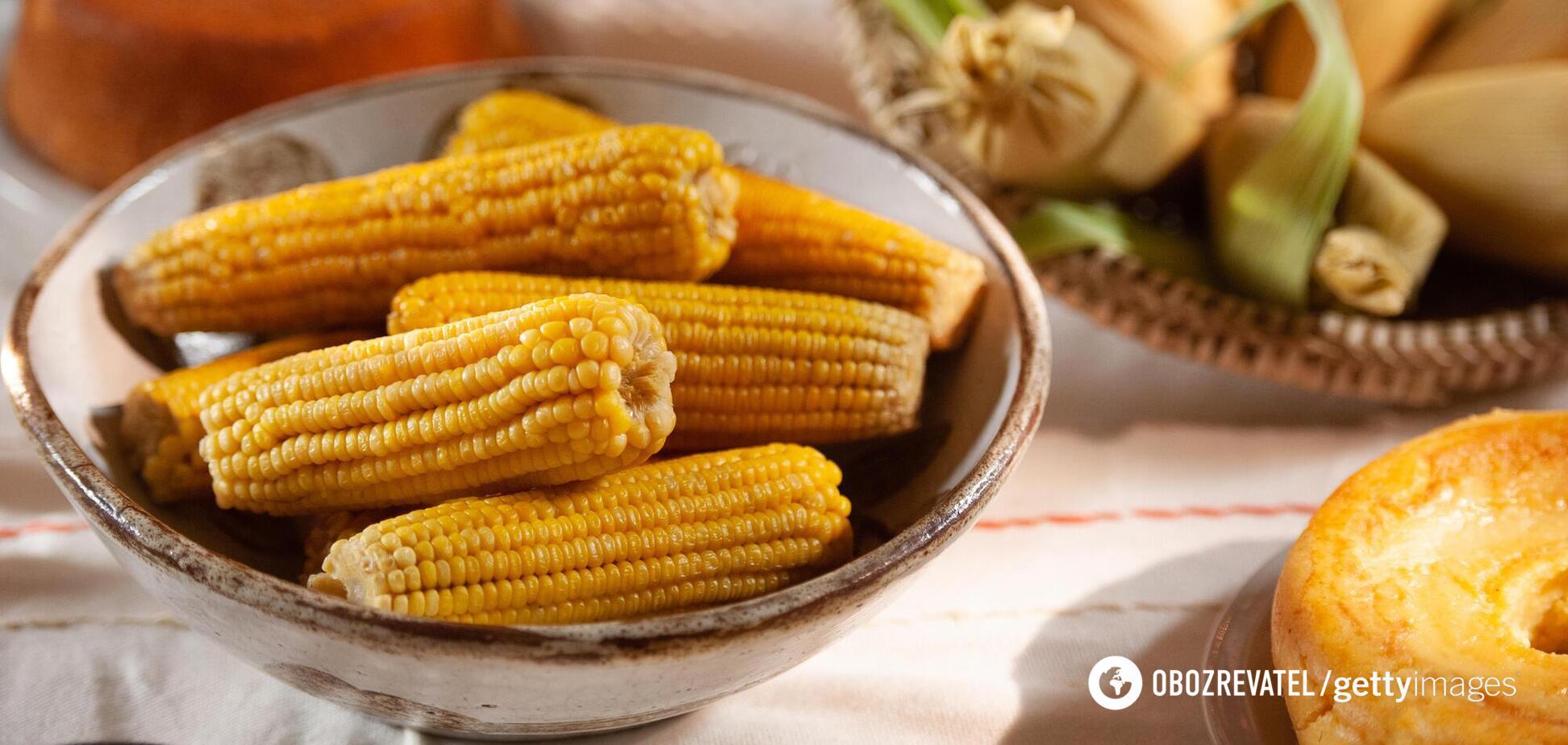 Кукурудза знижує ризик серцево-судинних захворювань