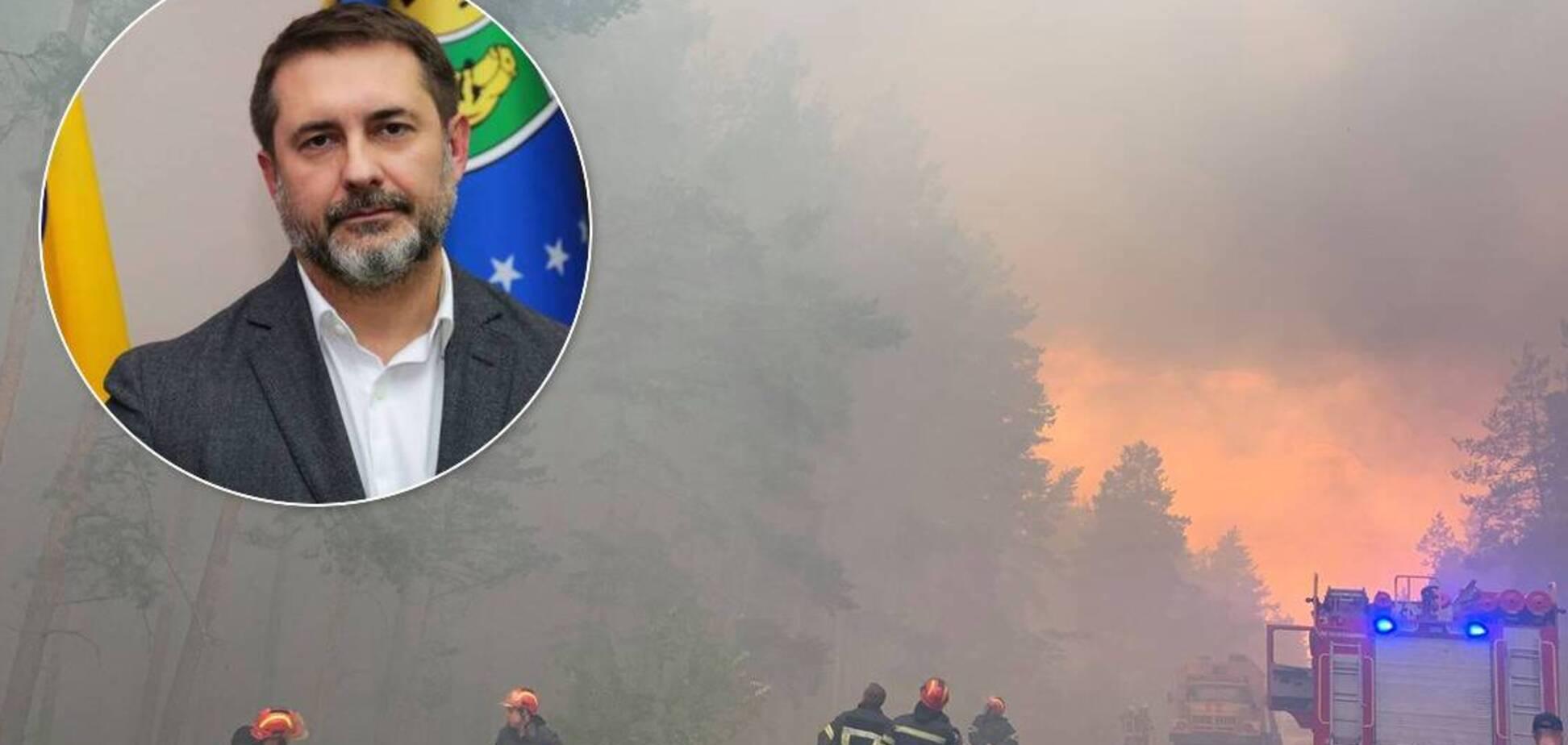 Голова Луганської ОДА доручив оцінити втрати населення від вогню